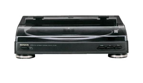 Aiwa PX-E855 Tocadiscos negro: Amazon.es: Electrónica
