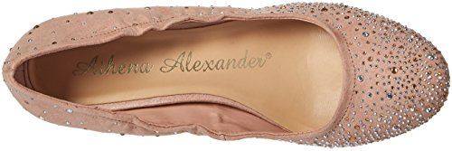 Athena Alexander Womens Bexley Dress Pump Blush Scamosciato