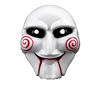 PhoebeTan Halloween Cosplay Saw Plastic Masks