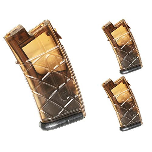 Airsoft Shooting Gear APS 3pcs 300rd Hi-Cap Magazine for APS JG Classic Army Tokyo Marui AUG AEG Brown/Black