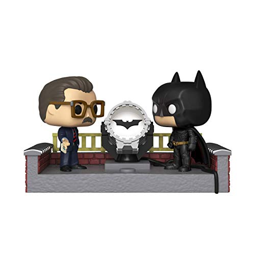 Funko Pop! Movie Moment: Batman 80th - Batman with Light Up Bat Signal