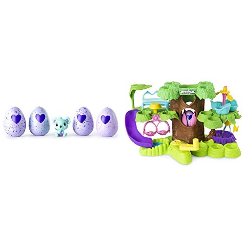 Hatchimals   Colleggtibles 4 Pack   Bonus  Styles   Colors May Vary  By Spin Master With Hatchimals Nursery Playset Bundle