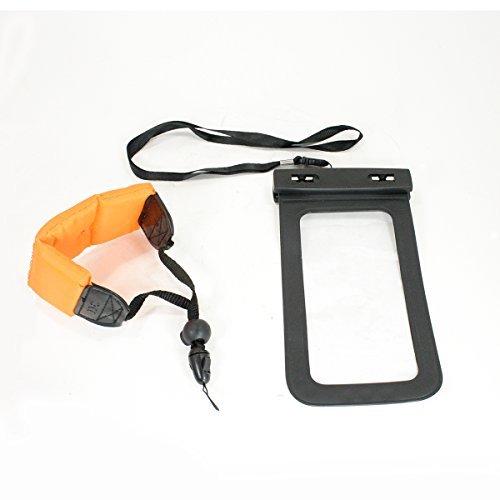 Action Mount¨   Waterproof Case Bag with Floating Wrist Strap, Operable with Any Phone. Universal Waterproof Case