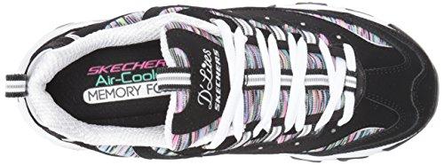 Skechers multi Negro Interlude 11978 Gray Mint D´lites HxwHrRBv