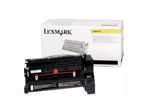 High Yield Prebate Print - LEXMARK Yellow High Yield Prebate Cartridge. Toner cartridge - yellow - 15,000 pages at approximately 5% coverage (Catalog Category: Printers & Print Supplies / Printer Consumables)