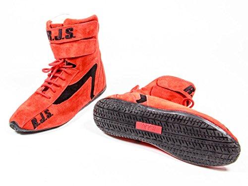 RJS Racing Equipment 500010456 Red 10 Redline Shoe (High-Top) ()