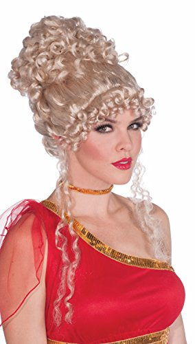 Renaissance Goddess Adult Size Costumes (Forum Novelties Women's Heavenly Goddess Wig, Blonde, One Size)