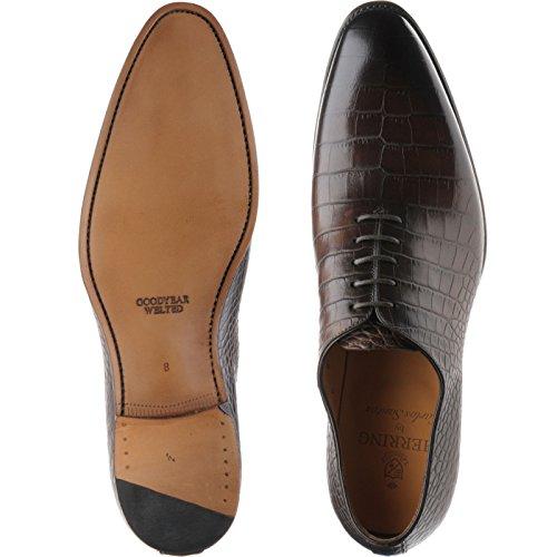 Herring  Herring Chaucer, Chaussures de ville à lacets pour homme marron Brown Croc