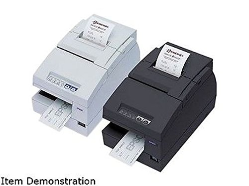 Epson C31C283A8911 TM-U675 Receipt-Slip-Validation Printer Serial Interface and ROHS - Requires PS180 - Color Dark Gray from Epson