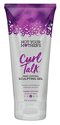 Not Your Mothers Curl Talk Sculpting Gel 6 Ounce Frizz Control (177ml) ()