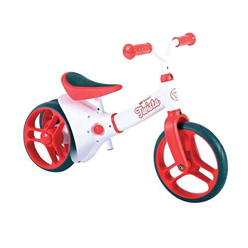 Yvolution Y Velo Twista Baby Balance Bike   Walking Bicycle with Adjustable Wheels and Seat   18+...