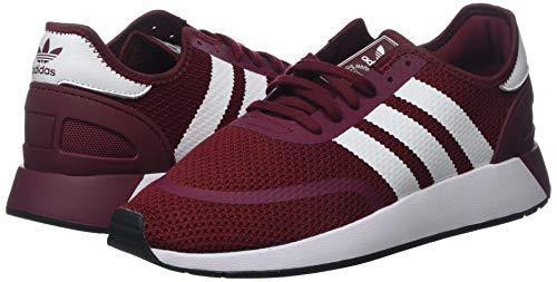 Ftwbla para Hombre Deporte Buruni Zapatillas 5923 Negbás N de Adidas Rojo 0 nSX4BxFz4q