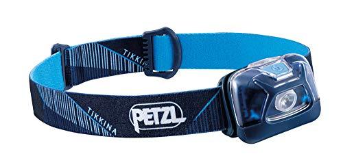 Petzl E091DA02 Tikkina hoofdlamp, uniseks, volwassenen, blauw, eenheidsmaat