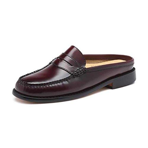 G.H. Bass & pWyAV8Ta5z 71-22809 Women's Wynn Open Back Mule Shoe Burgundy Leather