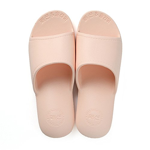 Slippers female summer home bathroom bathroom couple non-slip bath soft bottom home plastic cute male slippers Gray WNZGg8uxx
