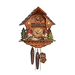 Sternreiter 1248 Beer Drinker Black Forest Mechanical Cuckoo Clock