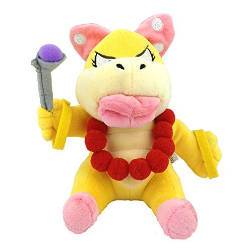 Generic Wendy O. Koopa Super Mario Bros Character Plush Toy Koopalings Stuffed Animal Soft Doll Figure 6