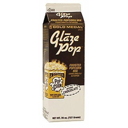 Gold Medal Glaze Pop - Palomitas de Chocolate condimento 794 Gramos de cartón