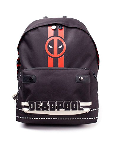 Comics Multicolour Deadpool Backpack Casual Marvel L Solid Icon Colour Print Multi 20 cm Bp510767Ded Daypack 28 dZqzq5