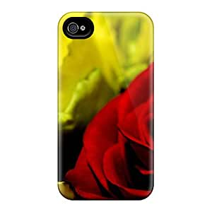 New Arrival Covers Cases With Nice Design For Iphone 6- Red Rose Close Up