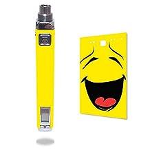 Innokin iTaste VV V3.0 Vape E-Cig Mod Box Vinyl DECAL STICKER Skin Wrap / Smiley Face Emoticon Emoji