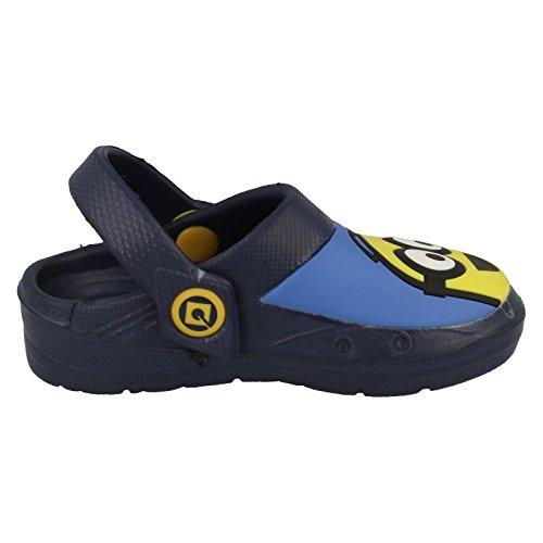 MINIONS ,  Jungen Durchgängies Plateau Sandalen mit Keilabsatz Blau