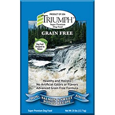 Triumph Grain-Free Salmon And Sweet Potato Dog Food, 28 Lb.