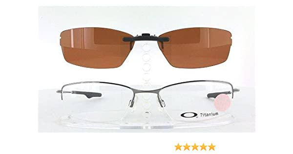 7b479fe70f Amazon.com  OAKLEY WINGBACK-OX5089-51X18 POLARIZED CLIP-ON SUNGLASSES  (Frame NOT Included)  Health   Personal Care