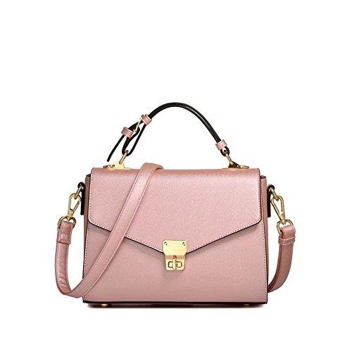 La Pink Bolso Rosa Tendencia Rampa Del De De La Señora GWQGZ De La De La Nueva Bolso Cerradura qwvnHT