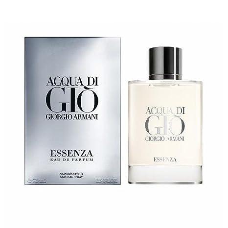 ARMANI ACQUA DI GIO HOMME ESSENZA Eau De Parfum vaporizador 75 ml: Amazon.es: Belleza