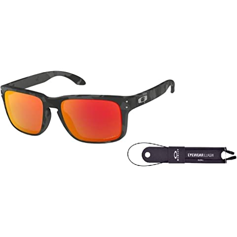 a55da8664f6 Oakley Holbrook OO9102 Sunglasses+BUNDLE with Oakley Accessory Leash Kit