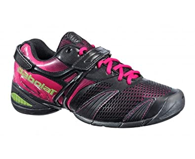 28d6b35bd32a Amazon.com  Babolat Propulse Lady 3 Tennis Shoes - 7.5 Black Pink  Shoes