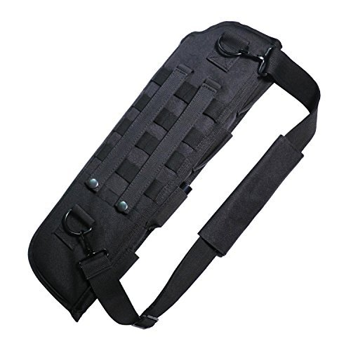 Hunting Scabbard Shotgun Holster Short Barrel Shotgun Scabbard Holster Bag Sling Shoulder Shotgun Rifle Padded Sling Case for Mossberg 590,Pistol Grip Airsoft Shotgun, Remington 870 tac14 Short Barrel (Shotgun Short)