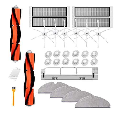 Tiamu 31 Unids para Robot Aspiradora Kit de Piezas S50 S51 Cepillo ...