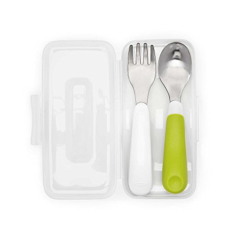 OXO Fork Spoon Carrying Green