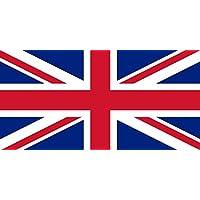 Union Jack Flag 5ft x 3ft Large - 100% Polyester - Metal Eyelets - Double Stitched