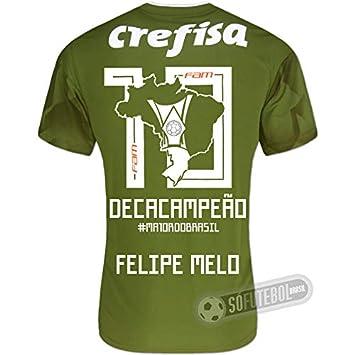 82ff9d9399 Camisa Palmeiras Edição Limitada (FELIPE MELO) - Decacampeão Brasileiro