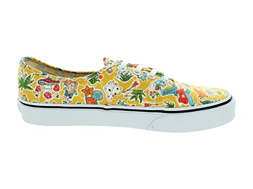Vans Authentic Liberty Wonderland True White Gelb