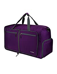 Travel Duffel Bag, Duffle Bag, Modase 80L Large Foldable Travel Duffle Bag with Shoulder Straps for Women & Men - Lightweight Travel Bag with Big Capacity, Water Resistant
