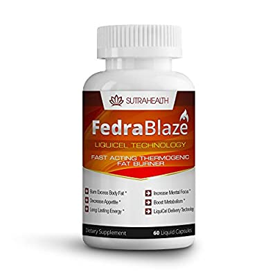 FedraBlaze Fast Acting Liquid Thermogenic Fat Burner Hyper Metabolizer Diet Pills