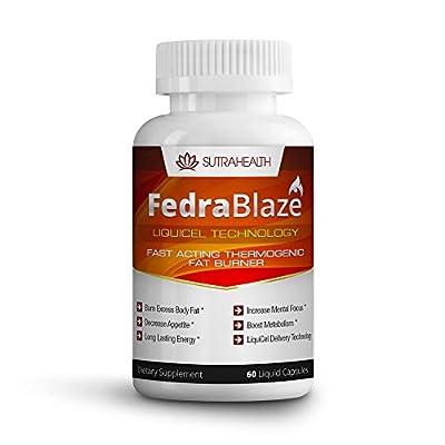 FedraBlaze Fast Acting Liquid Thermogenic Fat Burner Hyper Metabolizer Diet Pills