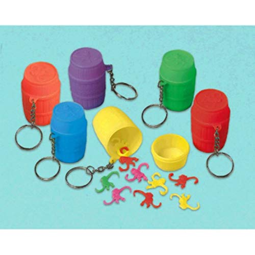 Amscan Monkey Game Keychains | Party Favor | Pack