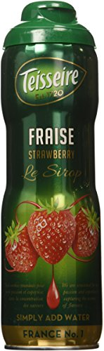 (Teisseire French Syrup Strawberry Drink concentrate 600ml (20 fl oz), One)