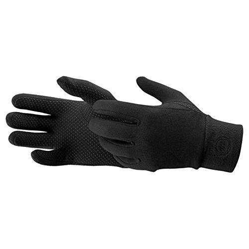 Manzella Men's Power Stretch Ultra TouchTip Glove (2014) (Pair) - Large/XLarge Black