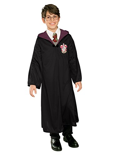 Rubies Costume Co Boys' Harry Potter Robe Black Large -
