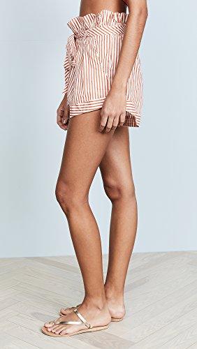 For Love & Lemons Women's Isla Striped Shorts, Stripe, Large by For Love & Lemons (Image #4)