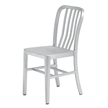 Soho Aluminum Dining Chair   Indoor Or Outdoor By Nuevo   HGGA161