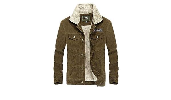 shinianlaile Mens Fleece Hooed Hoodies Thick Wool Warm Winter Jacket Coats