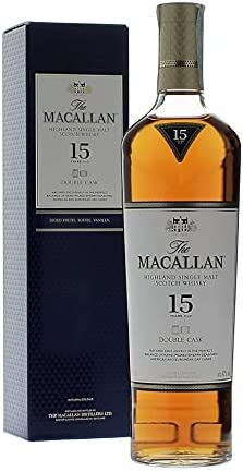 The Macallan 15 Years Old DOUBLE CASK Highland Single Malt Scotch Whisky 43% - 700ml in Giftbox