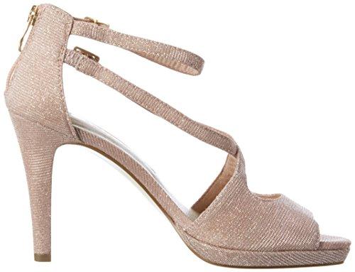 Tamaris 28301, Zapatos de Punta Descubierta para Mujer Rosa (ROSE 521Rose 521)